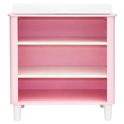 Jeanie Modern Scandinavian Rose Pink Wood Changing Table