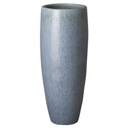 Ike Coastal Powder Blue Large Ceramic Vase - 39H