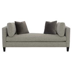 Zelie Loft Classic Heather Grey Chaise Lounge