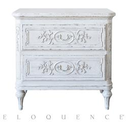 Eloquence Bronte Nightstand in Weathered White