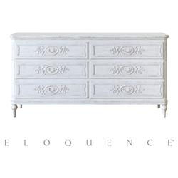 Eloquence Bronte Dresser in Weathered White