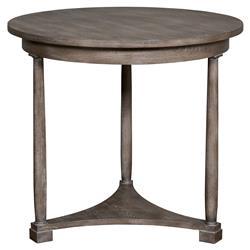 Vanguard Cyril Coastal Hampton Grey Cedar Side Table