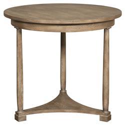Vanguard Cyril Coastal Rustic Brown Cedar Side Table