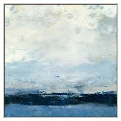 Isabella Blue Abstract Canvas Painting - I