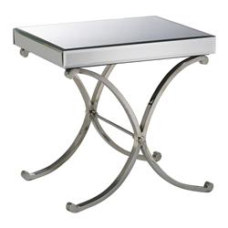 Contemporary Vogue Mirror Side Table