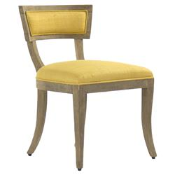 Ivette French Country Saffron Wood Side Chair