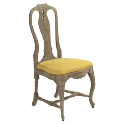 Sauville French Country Yellow Cabriole Side Chair