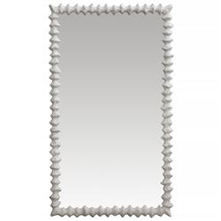 Oly Studio Clyde Frost White Wall Mirror - 42H