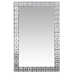 Andre Oly Carved Border Mirror - 47.5H