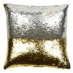 Finn Modern Mixed Metal Sequin Mermaid Pillow - 20x20