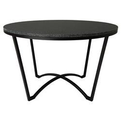 Gwen Loft Granite Black Outdoor Coffee Table