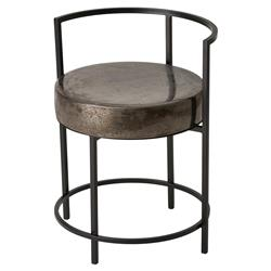 Tripp Loft Black Gunmetal Ceramic Outdoor Chair