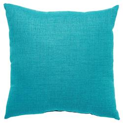 Coastal Modern Aqua Outdoor Pillow - 18x18