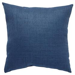 Coastal Modern Navy Indigo Outdoor Pillow - 18x18
