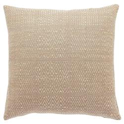 Global Bazaar Champagne Diamond Silk Pillow - 20x20