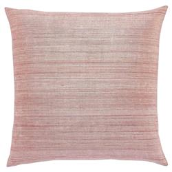 Regency Rose Linear Raw Silk Pillow - 20x20
