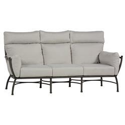 Summer Classics Majorca Dove Grey Overstuffed Slate Outdoor Sofa