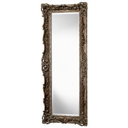 "French European Ornate Carved Gilt Heritage Gold Leaf Floor Mirror 70"""