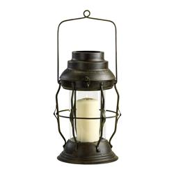 "Willow Antique Rustic Cottage Style ""Oil Lamp"" Candle Lantern"