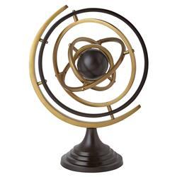 Galileo Modern Bronze Gold Metal Armillary Sphere