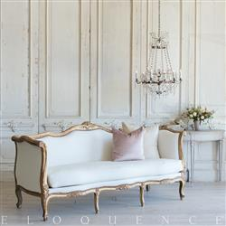 French Country Style Vintage Daybed: 1940