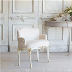 French Country Style Single Vintage Chair: 1942