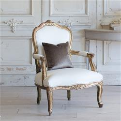 French Country Style Vintage Armchair: 1940