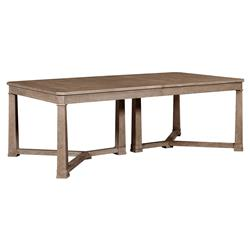 Michelle Modern Classic Maple Rectangular Extension Dining Table | Kathy Kuo Home