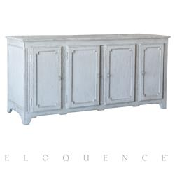 Eloquence® Etienne Sideboard in Winter White Finish | Kathy Kuo Home