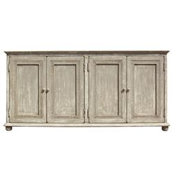 Lucas French Country Provincial Pine 4 Door Sideboard