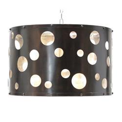 Oly Studio Dottie Antique Bronze Drum Chandelier