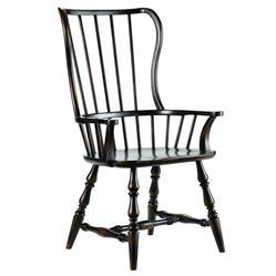Anson Modern Classic Ebony Windsor Arm Chair