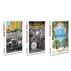 American City Series: Set of 3 Assouline Hardcover Books