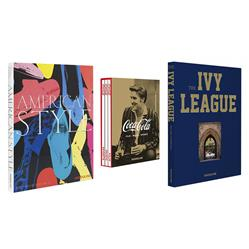 Born in the USA Series: Set of 3 Assouline Hardcover Books