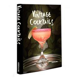Vintage Cocktails Assouline Hardcover Book
