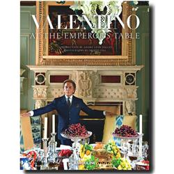 Valentino: At the Emperor's Table Assouline Hardcover Book