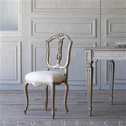 French Country Style Eloquence® Single Vintage Side Chair: 1940