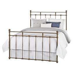 Lascaux French Country Brown Iron Bed - Twin