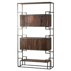 designer bookcases & display cases - eclectic bookcases & display