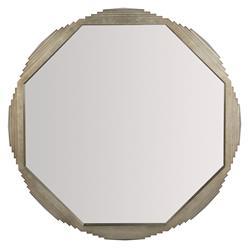 Gwyneth Modern Classic Wood Octagonal Mirror - 40D