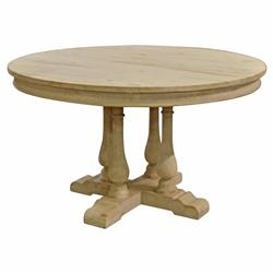 Marche French Country Round Pedestal Dining Table