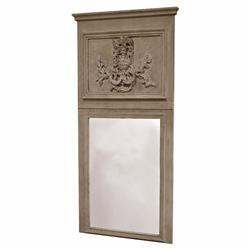 Anjou French Country Hand Carved Rectangular Mirror