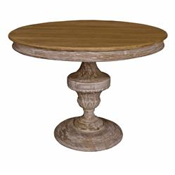 Rhone French Country Round Pedestal Bistro Table