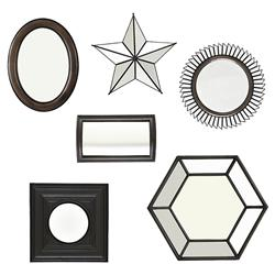 Eichholtz Draper Modern Classic Decorative Mirrors - Set of 6