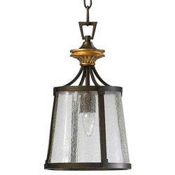 San Giorgio Spanish Revival 1 Light Bronze Foyer Pendant | CYAN-04651