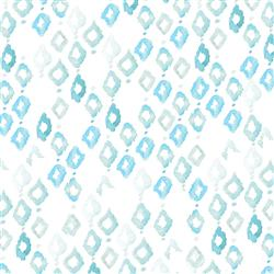 Anewall Triangles Modern Classic Abstract Blue Watercolor Wallpaper