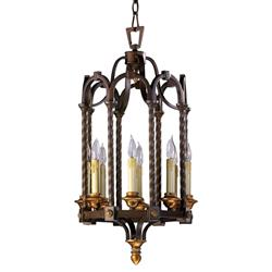 San Giorgio Spanish Revival 8 Light Bronze Foyer Pendant | CYAN-04653