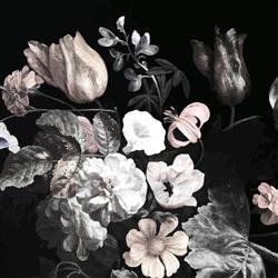 Anewall Still Life Modern Classic Flower Bouquet Wallpaper