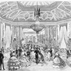 Anewall Ballroom Modern Classic 17th Century Vintage Paris Wallpaper