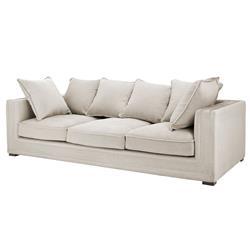 Eichholtz Menorca Modern Classic Stone Grey Modular Sofa